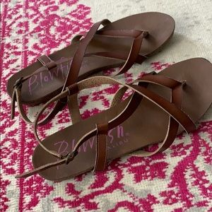 Blowfish Strappy sandals size 10